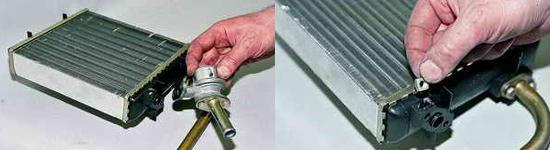 Замена крана радиатора отопителя Ваз 2121 Нива 2131
