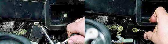 Снятие вентилятора отопителя салона Ваз 2121 Нива 2131
