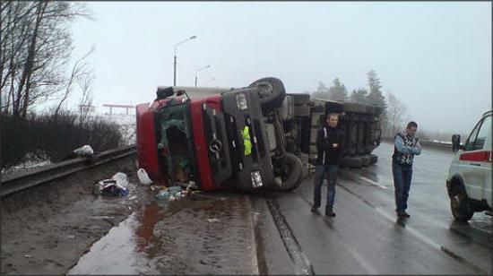 ДТП на Рижском шоссе Псковской области